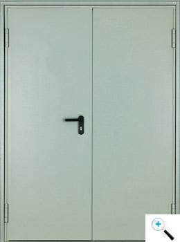 Техническая двухстворчатая дверь Asturmadi