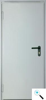 Техническая одностворчатая дверь Asturmadi