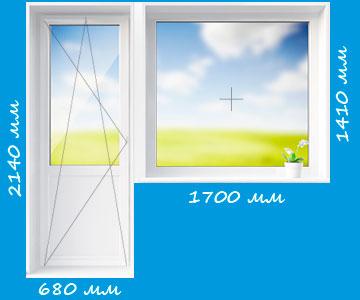 пластиковые окна 504 серия