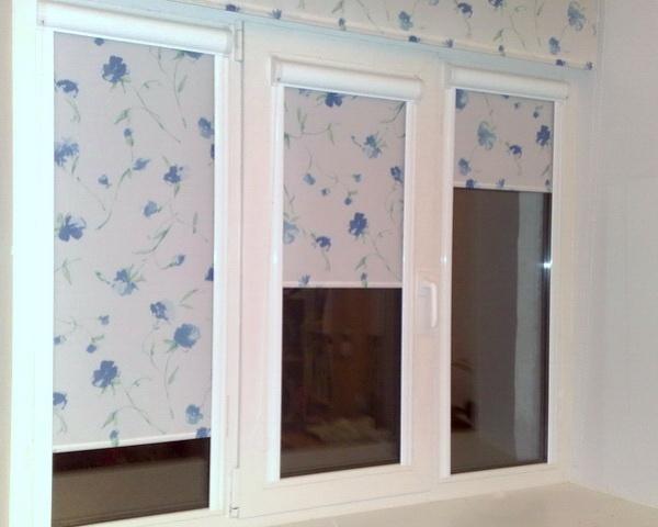 шторы рулонные на окно