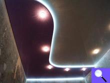 натяжные потолки парящие