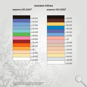Глянцевые фактуры натяжных потолков 150 и 320 см.